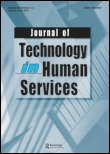 Cover of the Journal of Technology in Human Services.