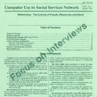 1988 Vol. 8, No. 1.