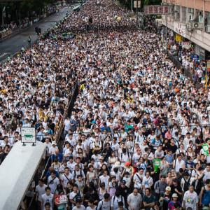 Hong Kong Democracy Demonstration
